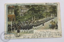 1907 Germany Postcard - Dresden - Die Schützen Zieh´n Auf Wache - Königsbrückerstrasse - Posted - Dresden
