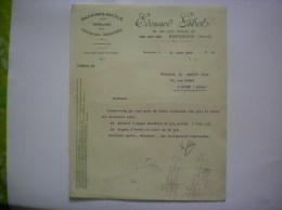 BOUCHAIN NORD EDOUARD GIBOT MACHINES OUTILS 88 RUE LEON PIERARD COURRIER DU 2 JUIN 1927 - 1900 – 1949