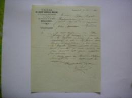 BOUCHAIN NORD CAISSE DE CREDIT AGRICOLE MUTUEL DU CANTON 14 BOULEVARD DE LA GARE COURRIER DU 7 JUIN 1931 - Banca & Assicurazione