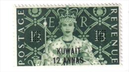 CI802 - KUWAIT , ELISABETTA ORDINARIA N. 112   ***  MNH - Kuwait