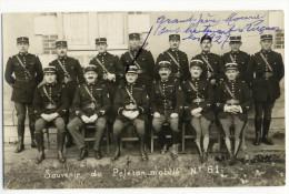 LUCON- Carte Photo Du Peleton De Gendarmerie Mobile  N°61. - Lucon