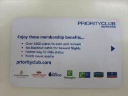 Priority Club Rewards - Chiavi Elettroniche Di Alberghi