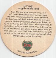Stadsbrouwerij De Ridder - Maastricht - Vos - De Wolf, De Geit En De Kool - Ongebruikt - Bierviltjes