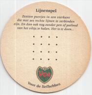 Stadsbrouwerij De Ridder - Maastricht - Vos - Lijnenspel - Ongebruikt - Bierviltjes