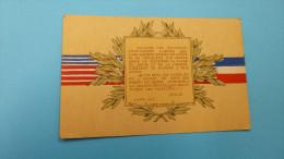 Vive Les Etats-Unis...4-7-1917...PETAIN. - Guerre 1914-18