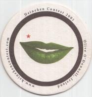 Heineken - Heineken Contest 2001 - Olive O´Donnell, Ireland - Ongebruikt - Bierviltjes