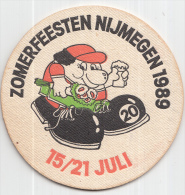 Heineken - Zomerfeesten Nijmegen 1989 - 15/21 Juli - Ongebruikt - Bierviltjes