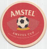 Amstel - Amstel Cup - Koninklijke Nederlandse Voetbalbond - Ongebruikt - Bierviltjes