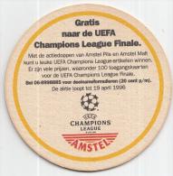 Amstel - Champions League 1996 - Ongebruikt - Bierviltjes