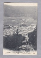 BE ST IMIER-SONNENBERG 1906.VII.23. St Imier  Funiculaire Foto Burgy - BE Berne