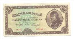BILLETE HUNGRIA - Hungría