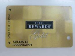 Total Rewards Gold Card - Chiavi Elettroniche Di Alberghi