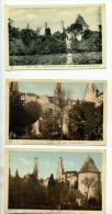 18 VORLY 3 Cartes Chateau De BOIS SIR AME 1930  /D10-2014 - Frankrijk