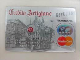 Italy Bank Americard Mastercard,credito Artigiano,old Building,demo Card - Geldkarten (Ablauf Min. 10 Jahre)