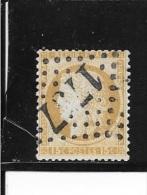 N° 55  FRANCE - CERES  - 1873  - 15c Bistre  - OBLITERE - 1871-1875 Cérès