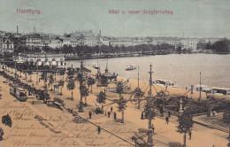 HAMBURG, Alter U. Never Jungfernstieg, Germany, PU-1905 - Autres