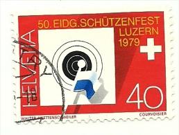 1979 - Svizzera 1077 Campionato Federale C3266, - Tiro (armi)