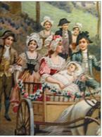 Album Baptême Battesimo Doop 40 ETIQUETTES Birth Labels Sugar Beans Choclate, Suikerbonen, Lithos Approx 1910 Excelent - Birth & Baptism