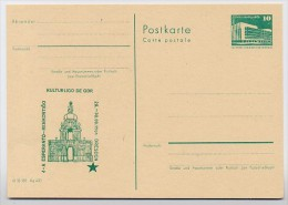 ESPERANTO-TREFFEN DRESDEN DDR P84-48-84 C95 Postkarte Zudruck 1984 - Esperanto