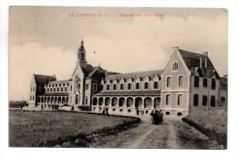 CP, 44, LE CROISIC, Hôpital De Pen-Bron, écrite, Voyagé En 1910 - Le Croisic