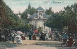 06 MENTON  Jardin Public Pendant La Musique - Menton