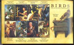 MINT NEVER HINGED MINI SHEET OF BIRDS   #   M-254-1   ( GAMBIA   2308 - Birds