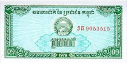 Cambodia 0.1 Riel 1979 Pick 25 UNC - Cambodge