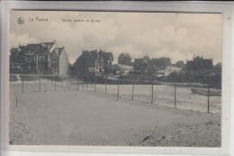 B 8660 DE PANNE, Zeelaan, Tennis - Platz - De Panne