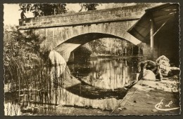 SAINT MAURICE GENCAY  Rare Le Pont Lavandière (Levasseur) Vienne (86) - France