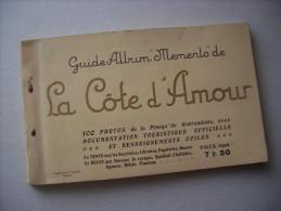 """Guide-Album""""Memento"""" De LA COTE D'AMOUR 100 Photos De La Presque'ile Guerandaise. 1925 - Libri, Riviste, Fumetti"""