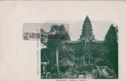Asie > Cambodge  Ruines D'Angkor (Carte Précurseur). - (voir Scan). - Cambodia