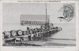Martinique > Embarquement De Rhums Sur La Côte, à Destination De Fort De France... RHUM CHAUVET. - (voir Scan). - Sin Clasificación