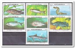 Nicaragua Postfris MNH, Fish - Nicaragua
