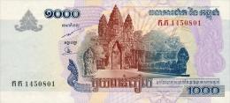 Cambodia  1000 Riel 2005 Pick 58a UNC - Cambodia