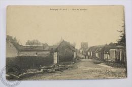 Postcard France - Bouvigny ( P. De C.) - Rue Du Château - Edited: D. Bully - Francia