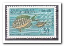 Hebriden French 1963 Postfris MNH, Fish - Franse Legende