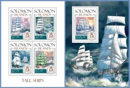 slm14109ab Solomon Is. 2014 Ship 2 s/s