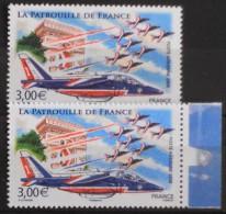 FRANCE 2008 - POSTE AERIENNE N° 71 Et 71 BdF - 2 Timbres NEUFS** 10% Sous Faciale - 1960-.... Postfris