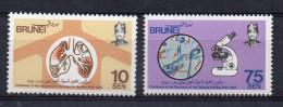 1982 -  Brunei  -  100 Eme Anniversaire Dela Découverte Du Bacille De La Tuberculose   N°278/79 - Brunei (1984-...)