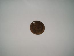 JETON GEORGES III DATE 1790. / ARMOIRIE / DIAMETRE 25MM. - Monarchia/ Nobiltà