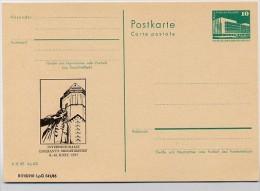 DDR P84-5-85 C109 Postkarte Zudruck BACHDENKMAL ESPERANTO Leipzig 1985 - Esperanto