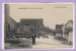 71 - CHAUDENAY --  Rue De L'Eglise - France
