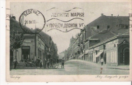 TEORPAG  30  KHEZ MUXAJROBA YRUIYA   1922 (BELGRADE LA RUE DU PRINCE MICHEL) - Serbie