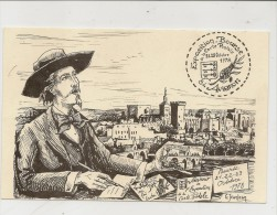 Jeanjean Cartophile Club Avignonnais President Grossand 200 Bourse 1978 - Otros Ilustradores