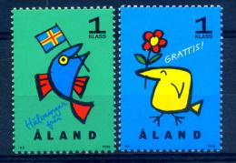 Aland 1996 / Greetings MNH Saludos / Ik18   1 - Aland