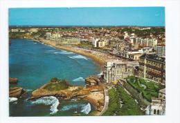 CPM 64 Biarritz Le Basta Et La Grande Plage Flamme Jour Férié 15 Aout 1971 - Biarritz