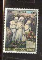 X VATICANO FATIMA 1967 1V TEMATICA RELIGIONE CRISTIANESIMO THEMATIC RELIGION - Cristianesimo