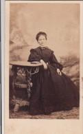 """FOTOGRAFIA PHOTOGRAPHY FOTO RITRATTO D´EPOCA ANTE 1900- 6,20 X 10,50-PHOTOGRAPHE """"CARLO SACCANI PARMA - Foto"""