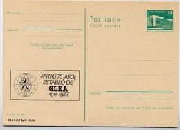 DDR P84-5-86 C138 Postkarte Zudruck ESPERANTO-TREFFEN  LEIPZIG 1986 - Esperanto