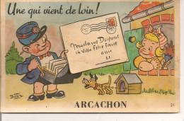 ARCACHON,,,,UNE QUI VIENT De LOIN,,,,BOZZ ,,,,,VOYAGE,,,,BE,,,,, - Arcachon